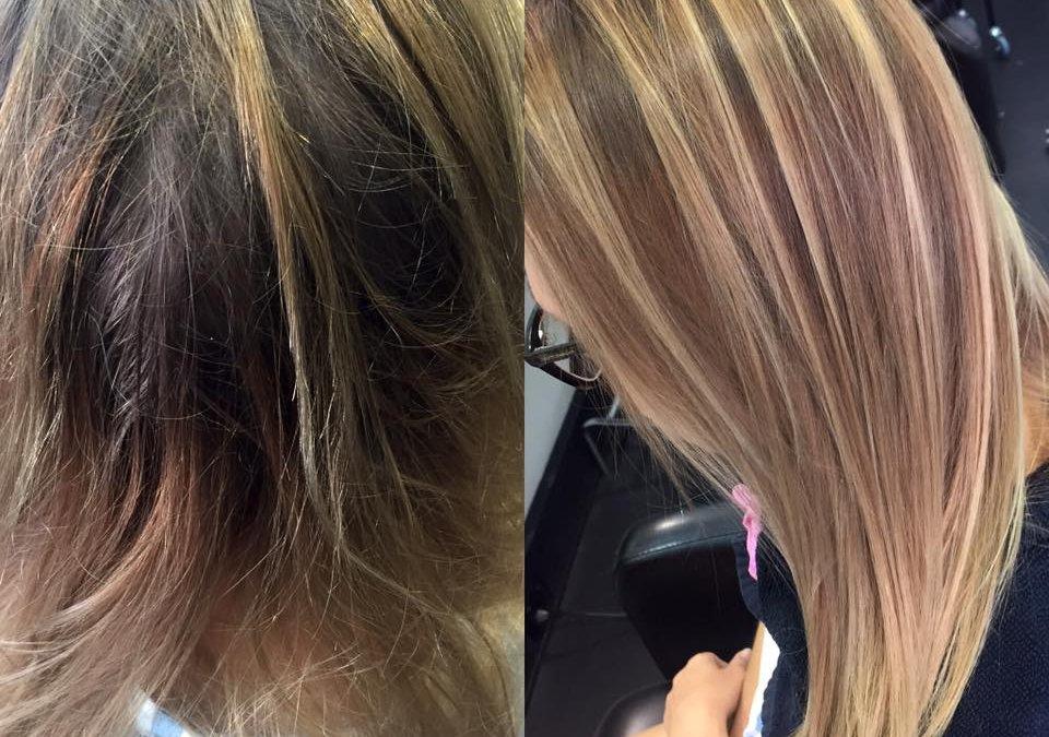 Hair highlights specialist – Chameleon New Age Salon