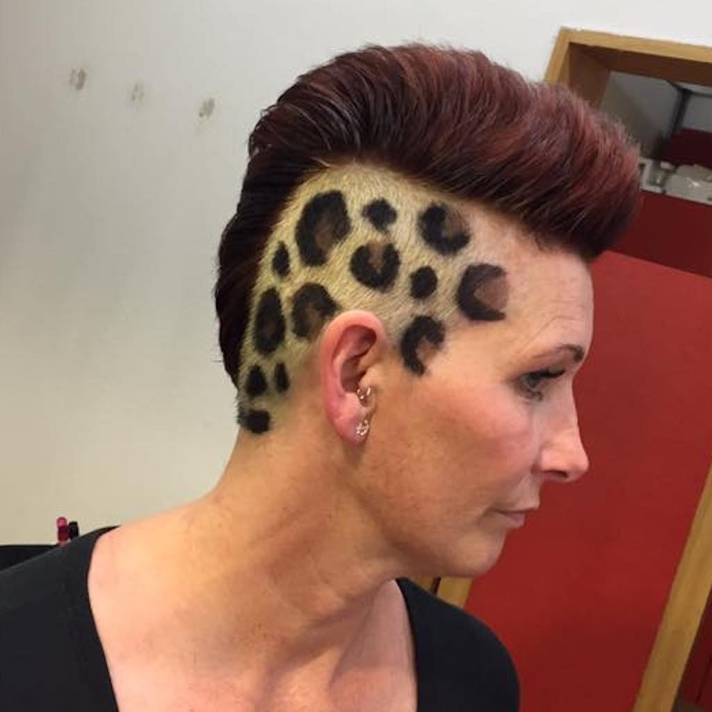 barbering colouring